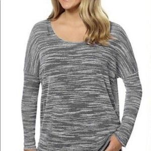 Olive & Oak Space Dye Tunic Top Size Large NEW